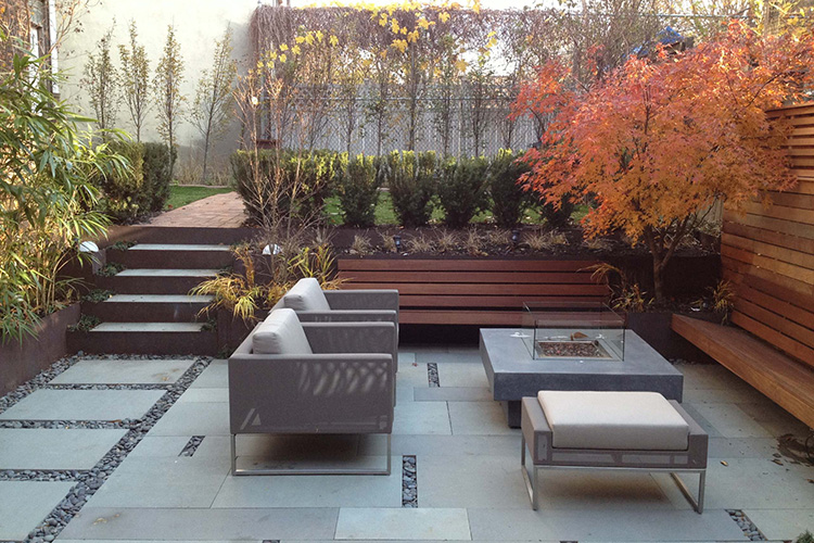 modern backyard design ideas  montreal outdoor living, Backyard Ideas