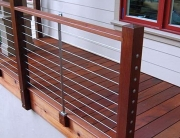 Modern Deck and Deck Railing Ideas 01