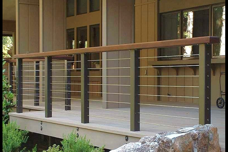 Montreal Outdoor Living Modern Deck And Deck Railing Ideas
