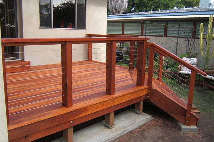 Modern deck railing ideas images - Decke modern ...