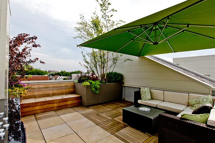 terrasse moderne montreal outdoor living. Black Bedroom Furniture Sets. Home Design Ideas