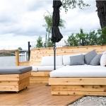 Outdoor Living Bench 02