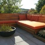 Outdoor Living Bench 03
