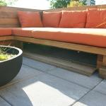 Outdoor Living Bench 04
