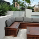 Outdoor Living Bench 06