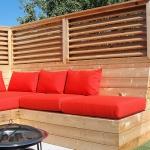 Outdoor Living Bench 09
