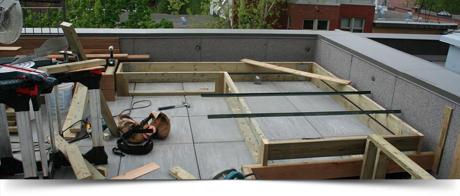 Rooftop Deck, Rooftop Terrace Construction