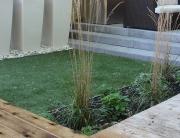 Backyard Synthetic Grass 1