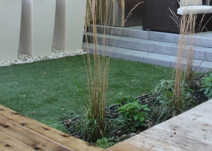 Backyard Synthetic Grass 1