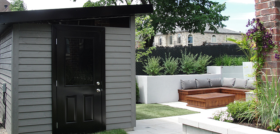 Am nagements paysagers montreal outdoor living - Plan cabanon contemporain ...
